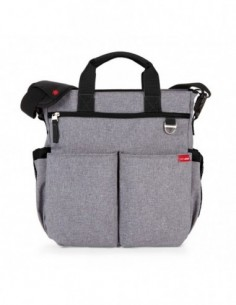 BOLSO SKIPHOP DUO SIGNATURE HEATHER GRAY NIKIDOM