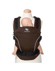 MOCHILA PORTABEBÉS MANDUCA PURECOTTON COFFEE BROWN