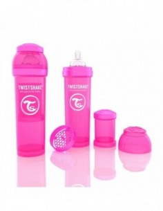 BIBERÓN ANTICÓLICOS TWISTSHAKE 330 ML