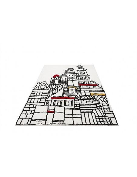 ALFOMBRA LAVABLE 120X160 CM CITY ARA TEXTIL