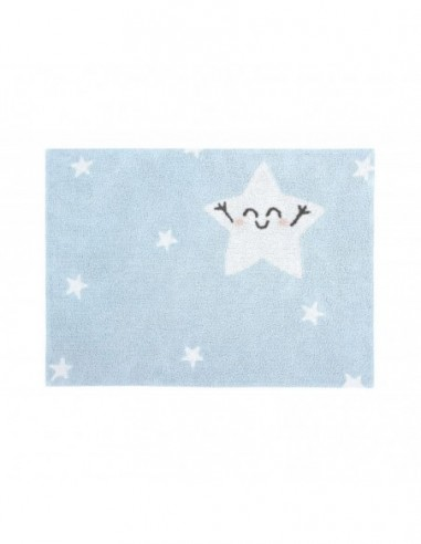 ALFOMBRA LAVABLE 120X160 CM HAPPY STAR LORENA CANALS