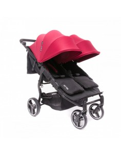 Carrito de bebé gemelar Easy Twin 3S Light de Baby Monsters