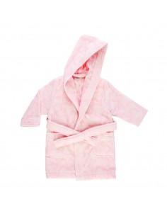 Albornoz infantil Kaos rosa...