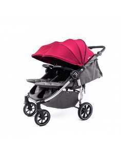 Carrito de bebé gemelar Easy Twin 4 de Baby Monsters