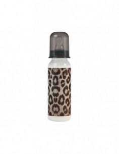 BIBERÓN ROCK STAR BABY LEOPARD 250 ML
