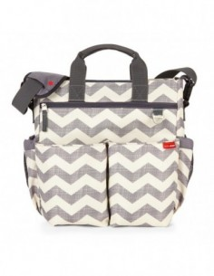 BOLSO SKIPHOP DUO SIGNATURE CHEVRON NIKIDOM