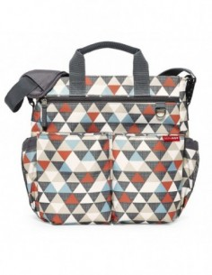 BOLSO SKIPHOP DUO SIGNATURE TRIANGLE NIKIDOM