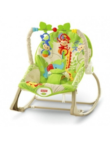 HAMACA CRECE CONMIGO MONITOS DIVERTIDOS FISHER PRICE