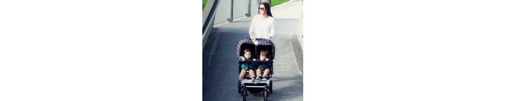 Carros de bebé gemelares